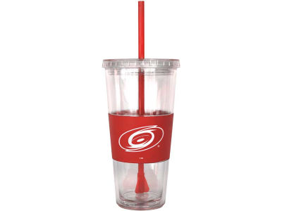 Carolina Hurricanes 22oz. Tumbler with Straw