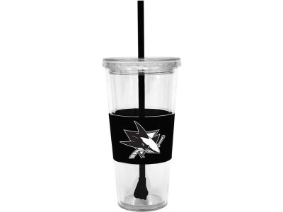 San Jose Sharks 22oz. Tumbler with Straw