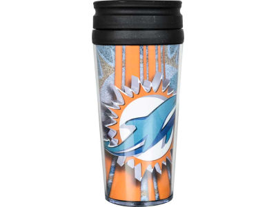 Miami Dolphins 16oz Travel Tumbler