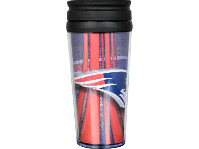 New England Patriots 16oz Travel Tumbler