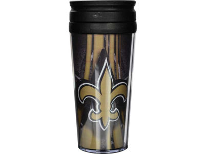 New Orleans Saints 16oz Travel Tumbler