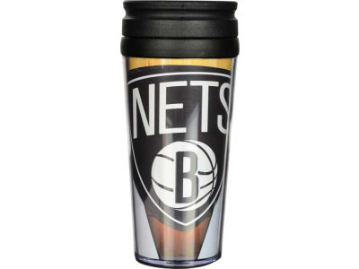 Brooklyn Nets 16oz Travel Tumbler