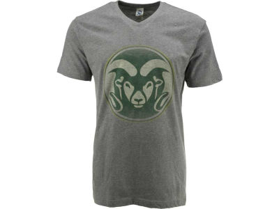 Colorado State Rams NCAA Fade Out RS Vneck T-Shirt