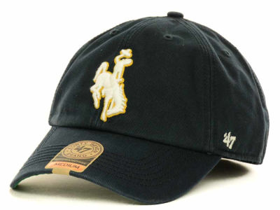 Wyoming Cowboys '47 NCAA Navy '47 FRANCHISE Cap