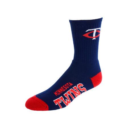 Minnesota Twins For Bare Feet Deuce Crew 504 Socks