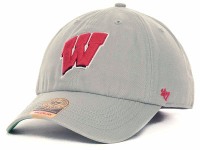 Wisconsin Badgers '47 NCAA Grey '47 FRANCHISE Cap