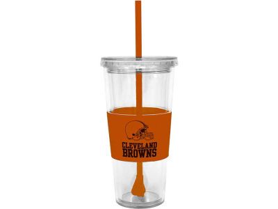 Cleveland Browns 22oz. Tumbler with Straw