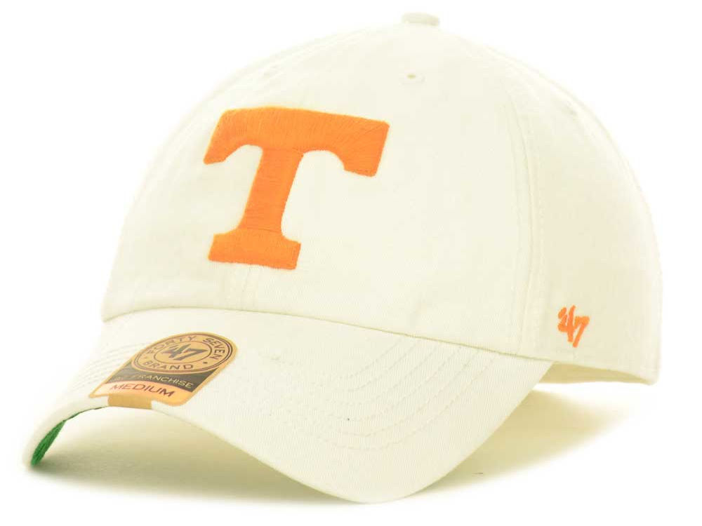on sale a4731 2daa9 ... uk tennessee volunteers 47 ncaa white 47 franchise cap 3516b 9e650