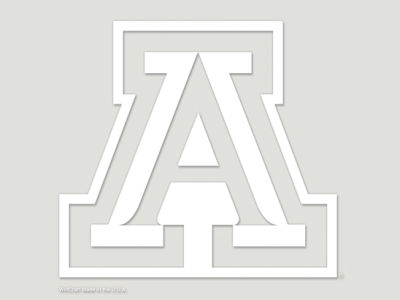 "Arizona Wildcats Die Cut Decal 8""x8"""