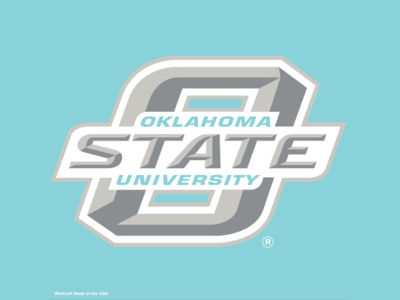 "Oklahoma State Cowboys Die Cut Decal 8""x8"""