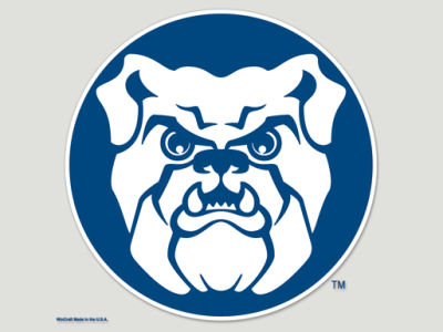 Butler Bulldogs Die Cut Color Decal 8in X 8in