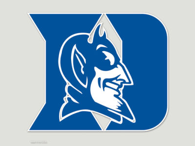 Duke Blue Devils Die Cut Color Decal 8in X 8in