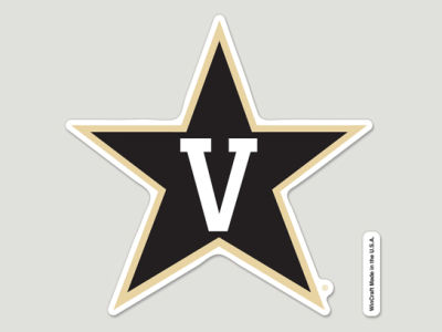 Vanderbilt Commodores Die Cut Color Decal 8in X 8in