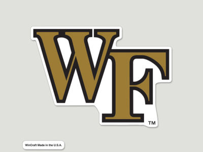 Wake Forest Demon Deacons Die Cut Color Decal 8in X 8in