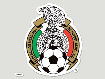 Mexico Die Cut Color Decal 8in X 8in