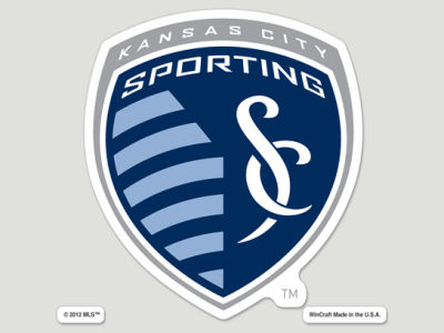 Sporting Kansas City Die Cut Color Decal 8in X 8in