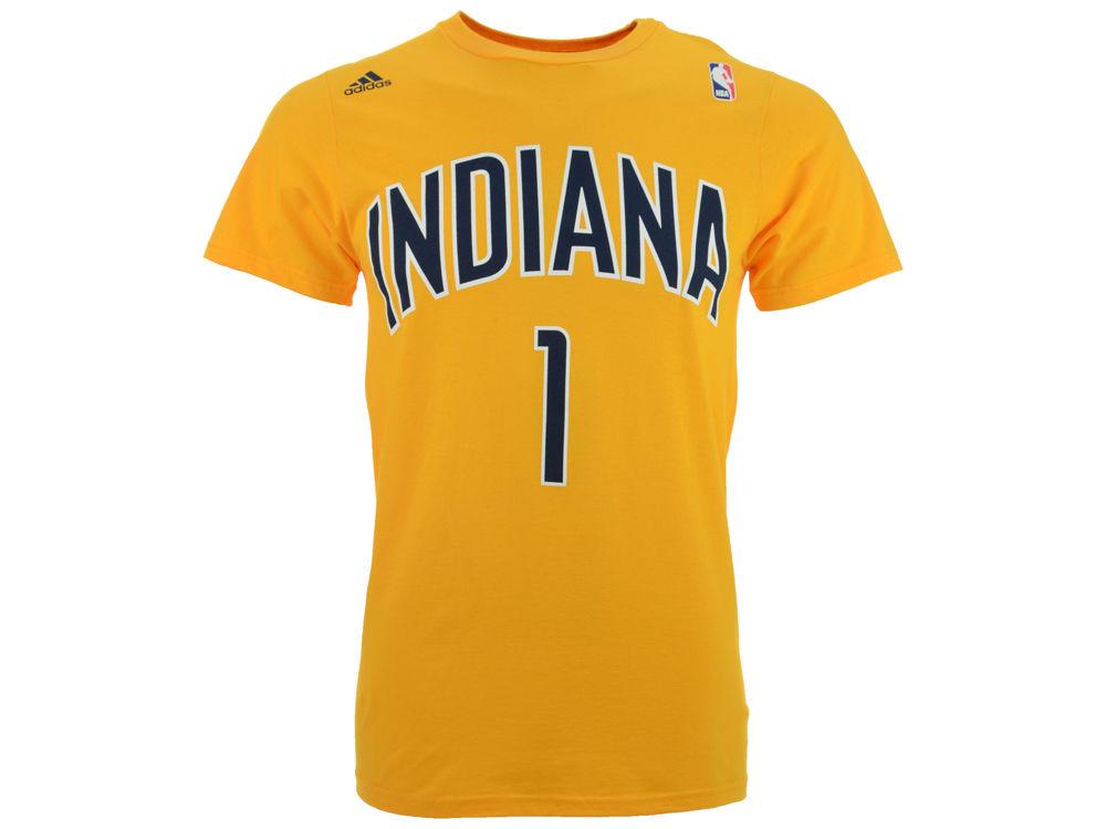 b0044a95f Indiana Pacers Lance Stephenson adidas NBA Men s Player T-Shirt ...