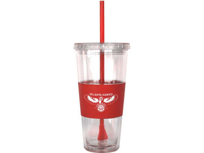 Atlanta Hawks 22oz. Tumbler with Straw