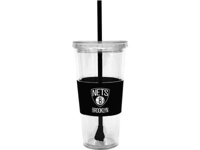 Brooklyn Nets 22oz. Tumbler with Straw