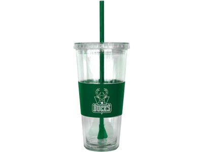 Milwaukee Bucks 22oz. Tumbler with Straw