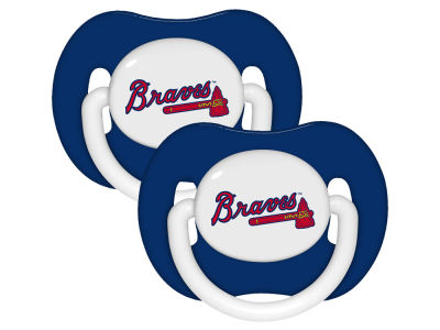 Atlanta Braves 2-pack Pacifier Set