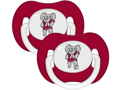 Alabama Crimson Tide 2-pack Pacifier Set