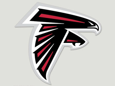 Atlanta Falcons Die Cut Color Decal 8in X 8in