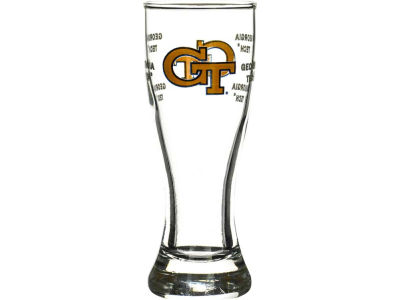 Georgia-Tech Satin Etch Mini Pilsner