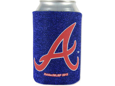 Atlanta Braves Glitter Can Coozie
