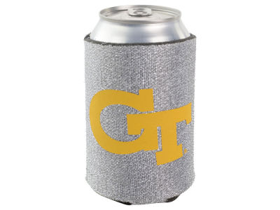 Georgia-Tech Glitter Can Coozie