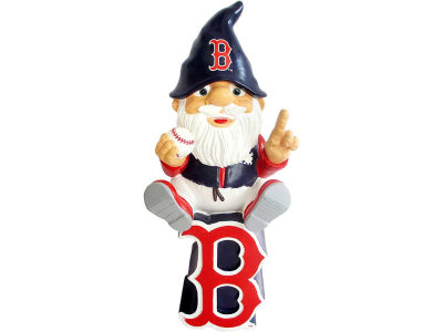 Boston Red Sox Gnome Sitting on Logo