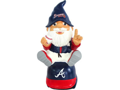 Atlanta Braves Gnome Sitting on Logo