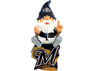 Milwaukee Brewers Gnome Sitting on Logo