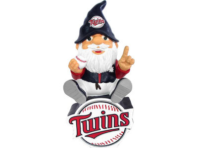 Minnesota Twins Gnome Sitting on Logo