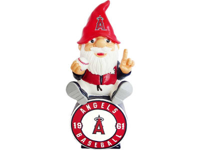 Los Angeles Angels Gnome Sitting on Logo