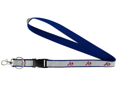 Atlanta Braves Sparkle Lanyard-Aminco