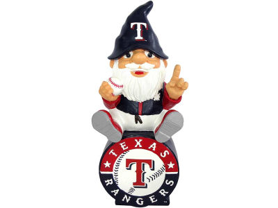 Texas Rangers Gnome Sitting on Logo