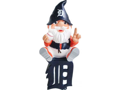 Detroit Tigers Gnome Sitting on Logo