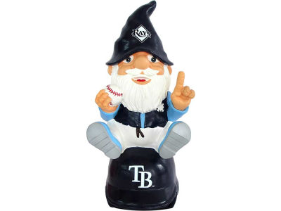 Tampa Bay Rays Gnome Sitting on Logo
