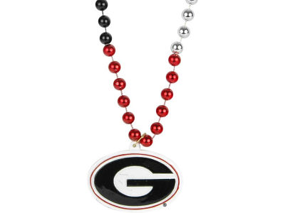 Georgia Bulldogs Team Logo Beads-Rico