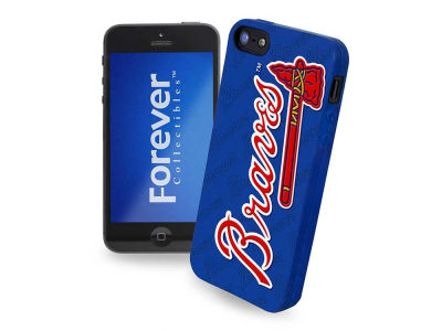 Atlanta Braves iPhone SE Case Silicone Logo