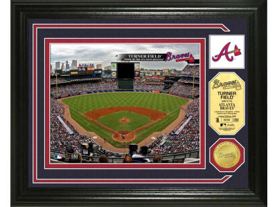 Atlanta Braves Photo Mint Coin-Bronze