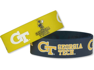 Georgia-Tech 2-pack Wide Bracelet
