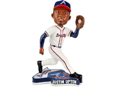 Atlanta Braves Justin Upton Pennant Base Bobble