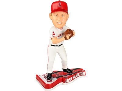 Los Angeles Angels Josh Hamilton Pennant Base Bobble