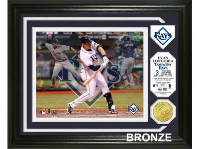 Tampa Bay Rays Evan Longoria Photo Mint Coin-Bronze