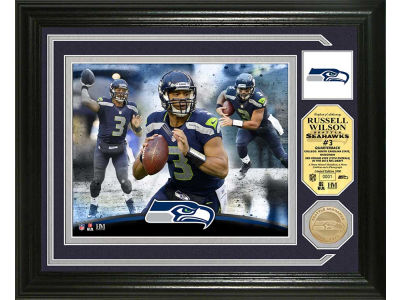 Seattle Seahawks Russell Wilson Photo Mint Coin-Bronze