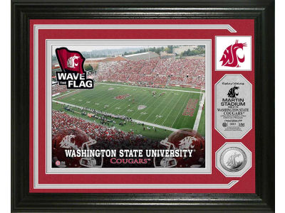 Washington State Cougars Photo Mint Coin-Bronze