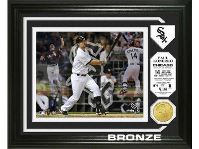 Chicago White Sox Paul Konerko Photo Mint Coin-Bronze