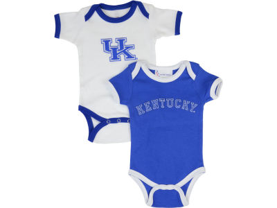 Kentucky Wildcats NCAA Infant 2 Pack Contrast Creeper